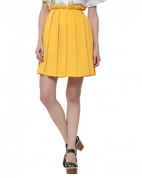 Crayon Pleated Skirt