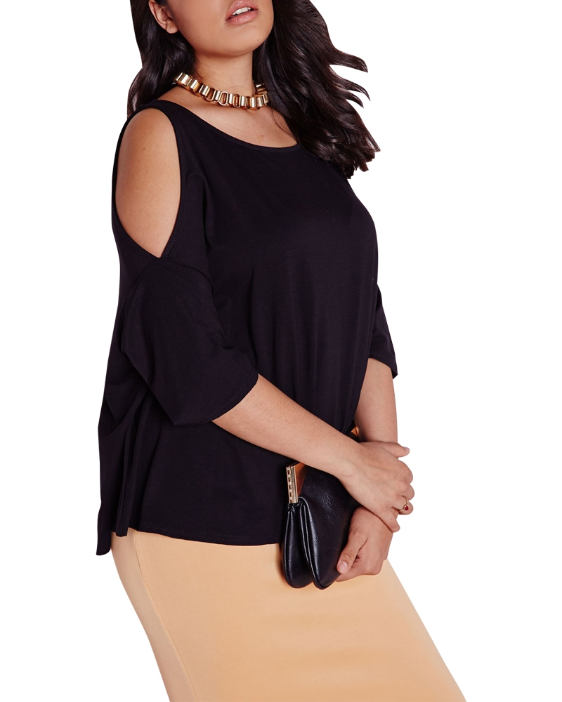 Darla Cold Shoulder Top