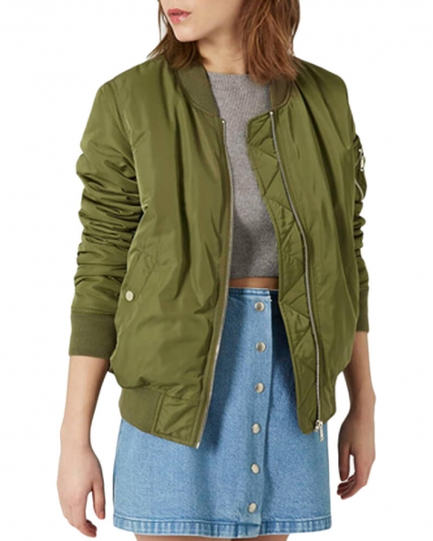 Green Autumn Winter Jacket