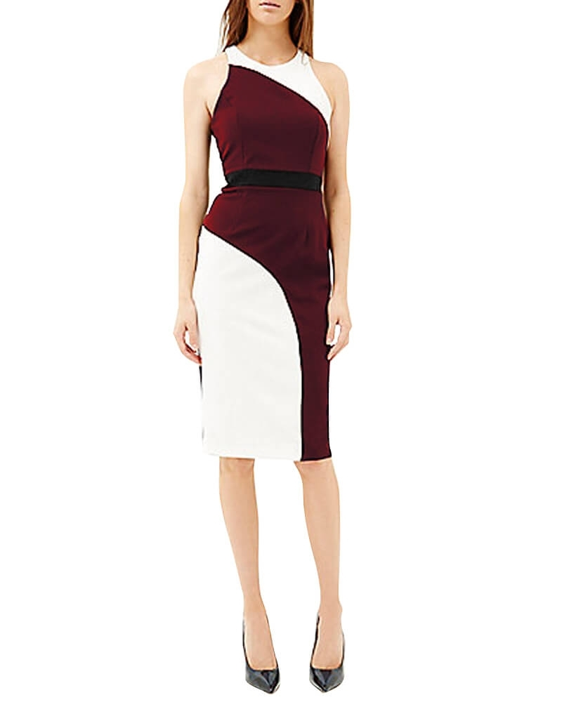 Scarlett Color Block Dress