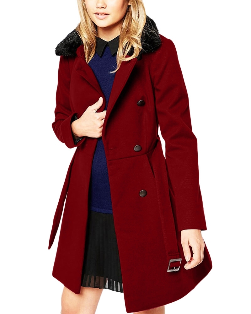 Evora Red Solid Coat