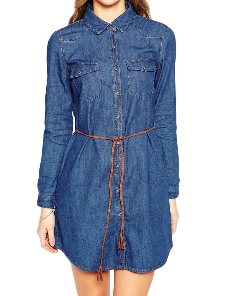 Claudie Denim Dress