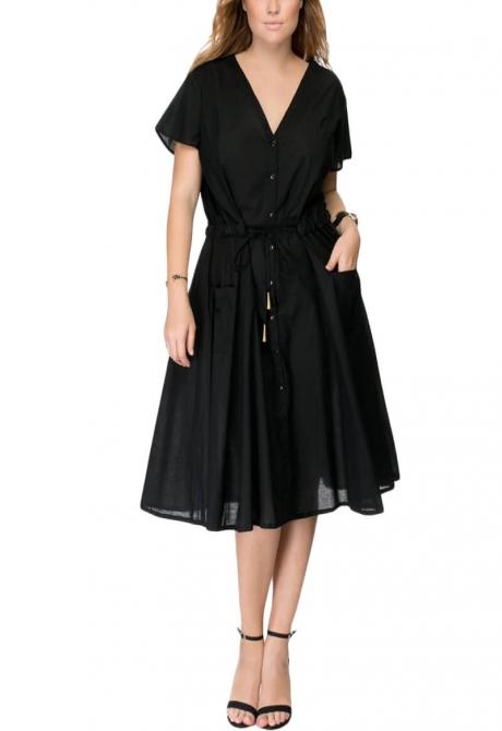 Annick Flared Dress
