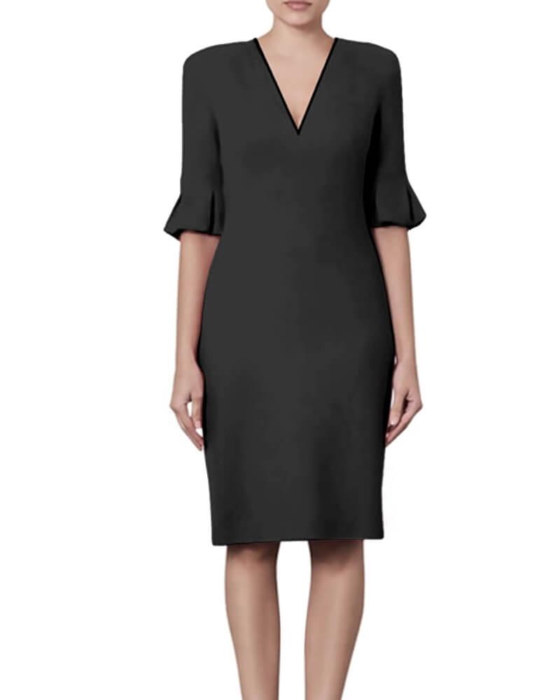 Kayla Bell sleeve Dress