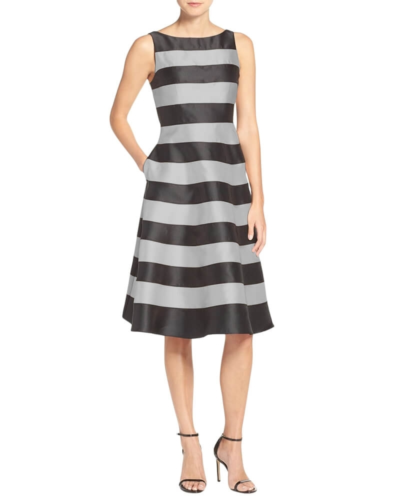 Khloe Bateau neck dress