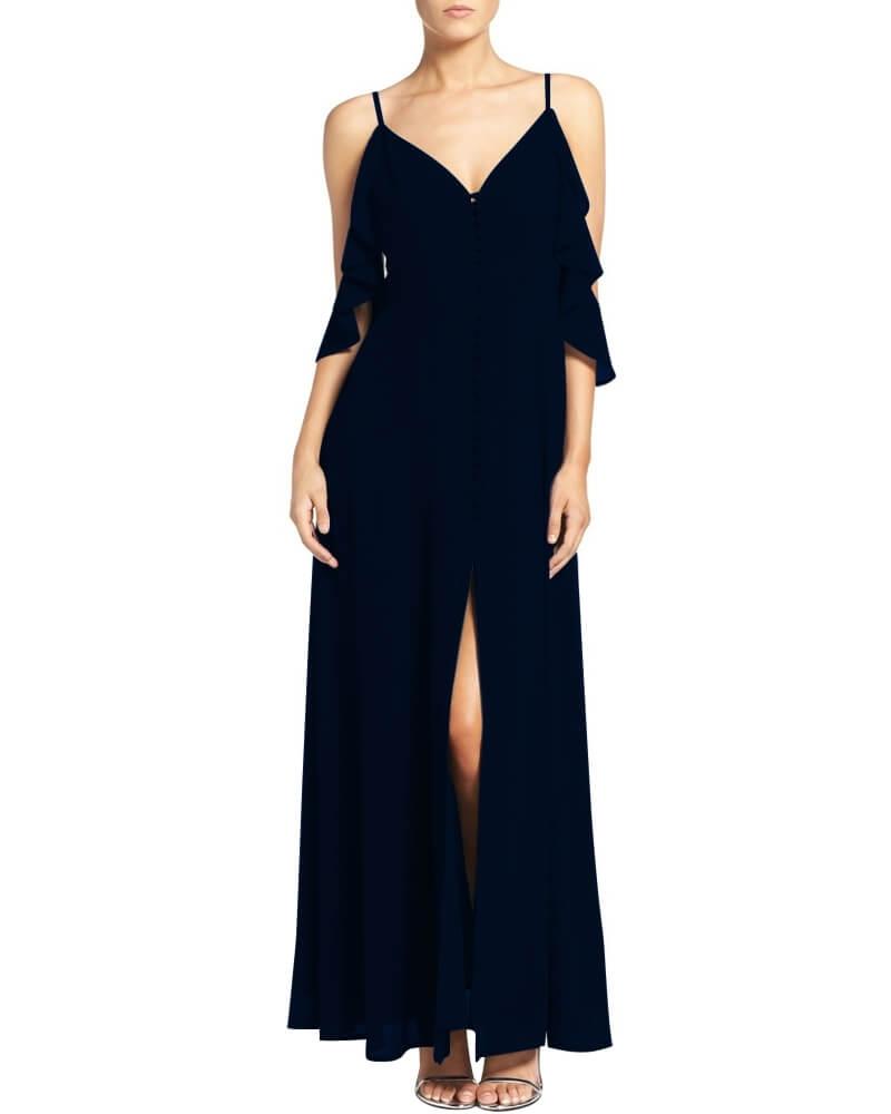 Peyton fluttery maxi dress