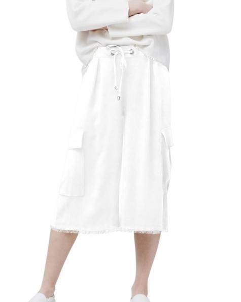 Side flap pocket trouser