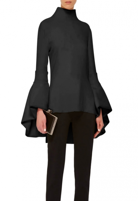Vogue Extended Shirt tail Top