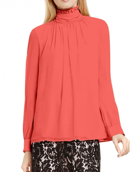 Whimsy ruffled blouse