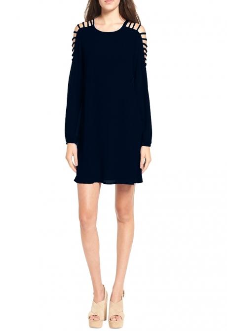 Barbara Slender straps short dress