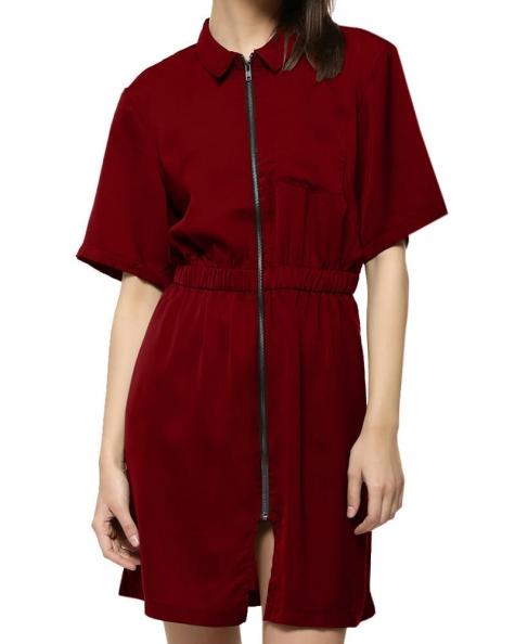 Olivia Zipped Dress