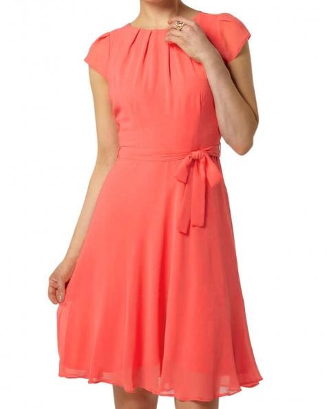 Blush Coral Day Dress
