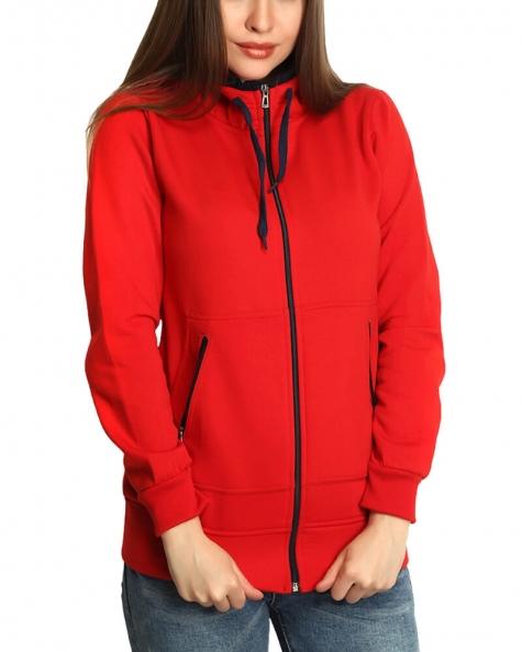Red Fleece Jacket