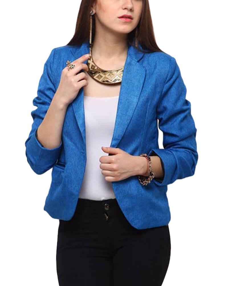 Sabriel Blue Blazer