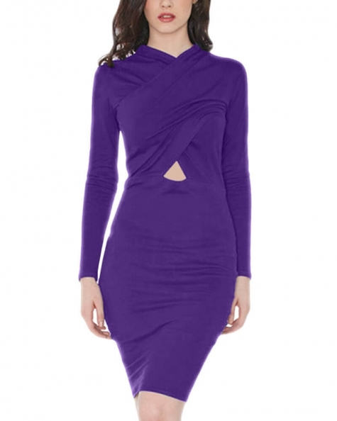 Ocean Mirage Jersey Dress