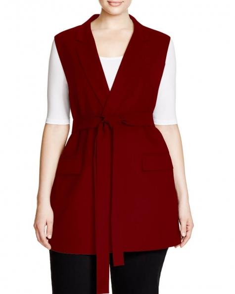 Camisated Sleeveless Coat