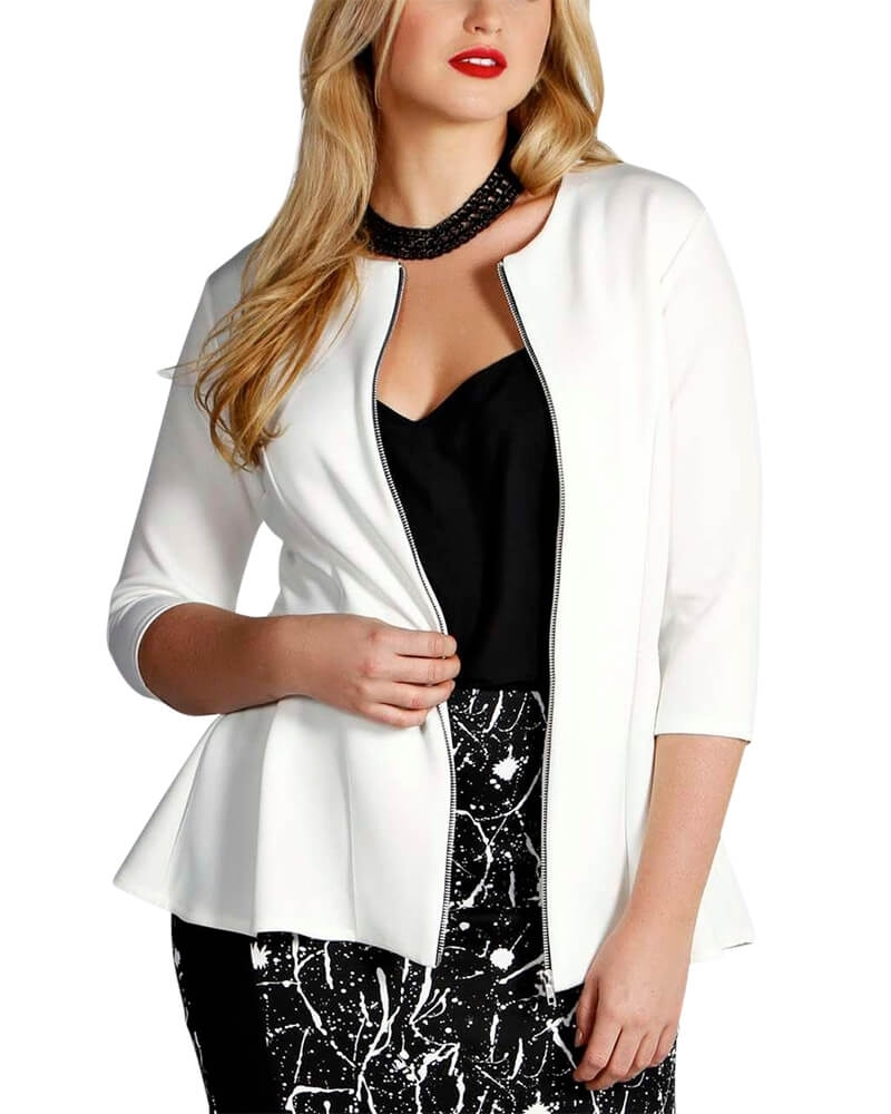 Peplos shaped Jacket