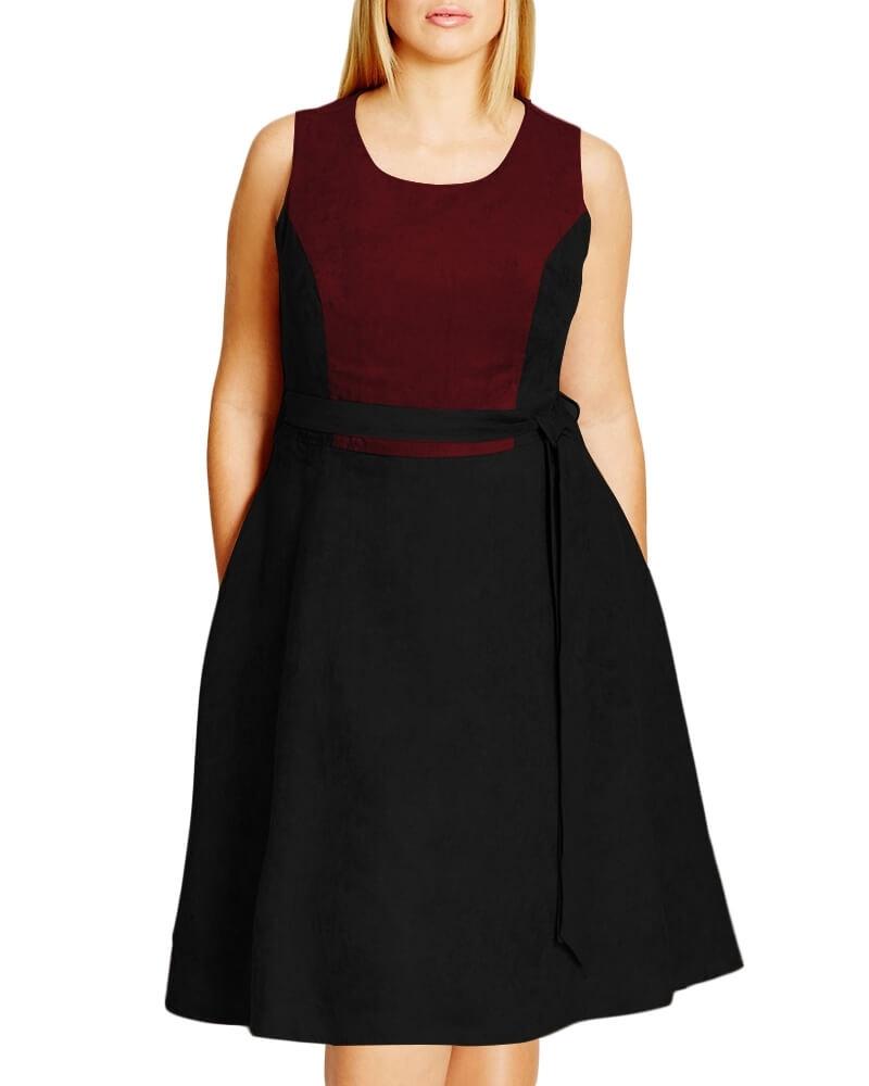 Noelle jersey dress