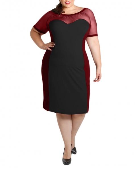 Zuzu colour block dress