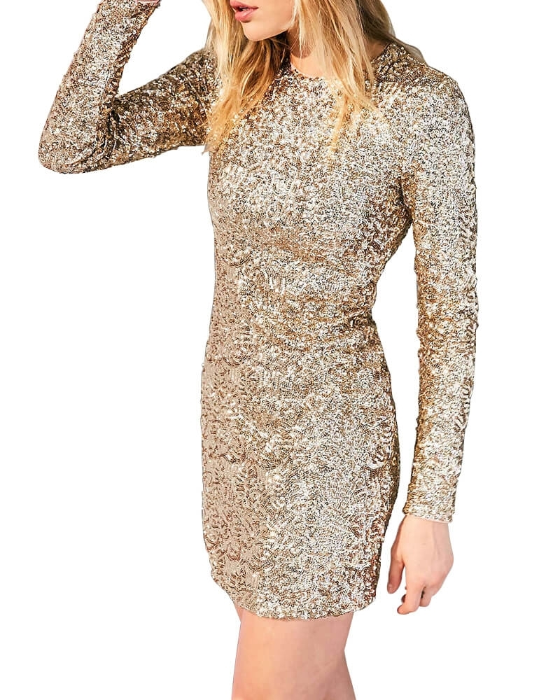 Sequined Fire Starter Dress