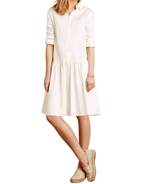 White Lies Shirt Dress