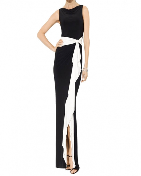 Wine Hour Black Gown