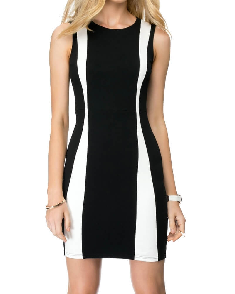 Anna Color Block Dress