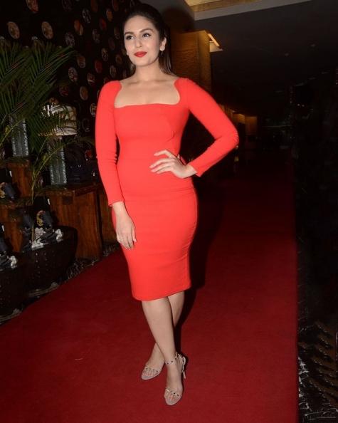 Huma Qureshi Ruddy Bodycon Dress