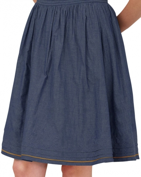 Freesia Chambray Skirt