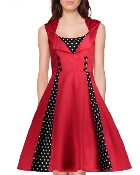 TAMMI FLARED DRESS