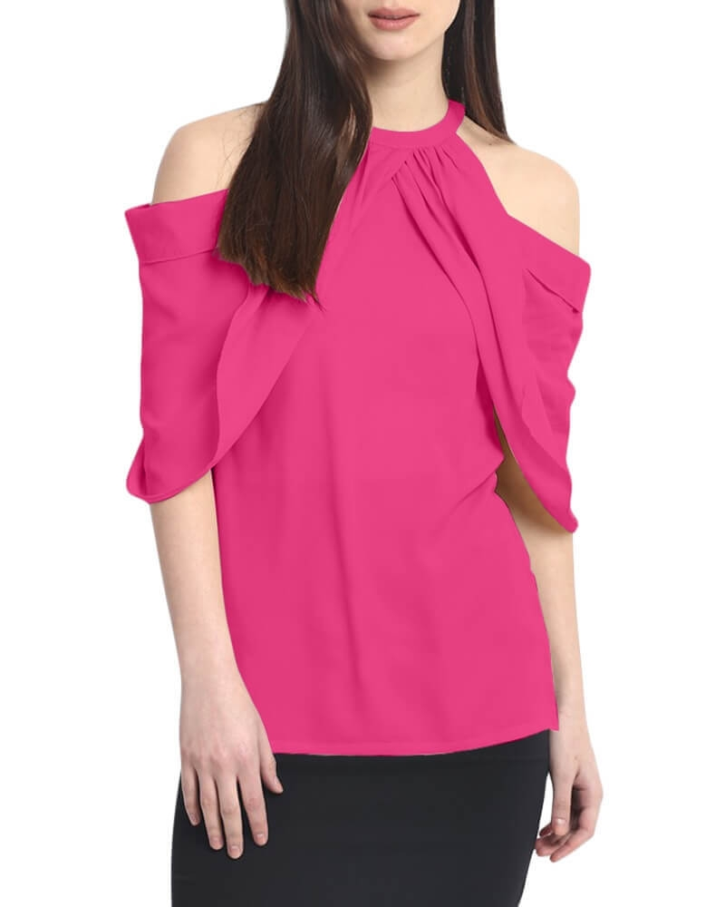 MARISOL COLD SHOULDER TOP