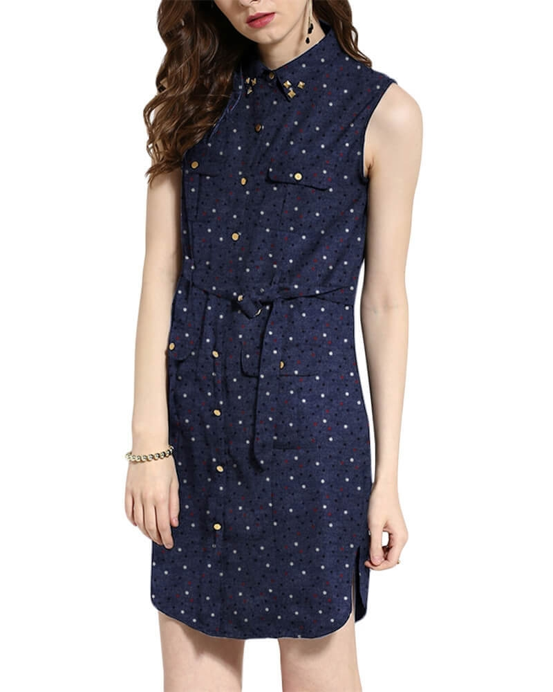 NITIDA DENIM DRESS