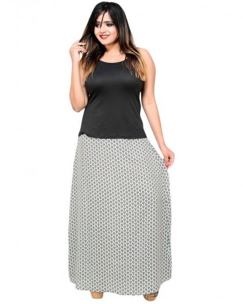 Sexy Printed A Line Skirt