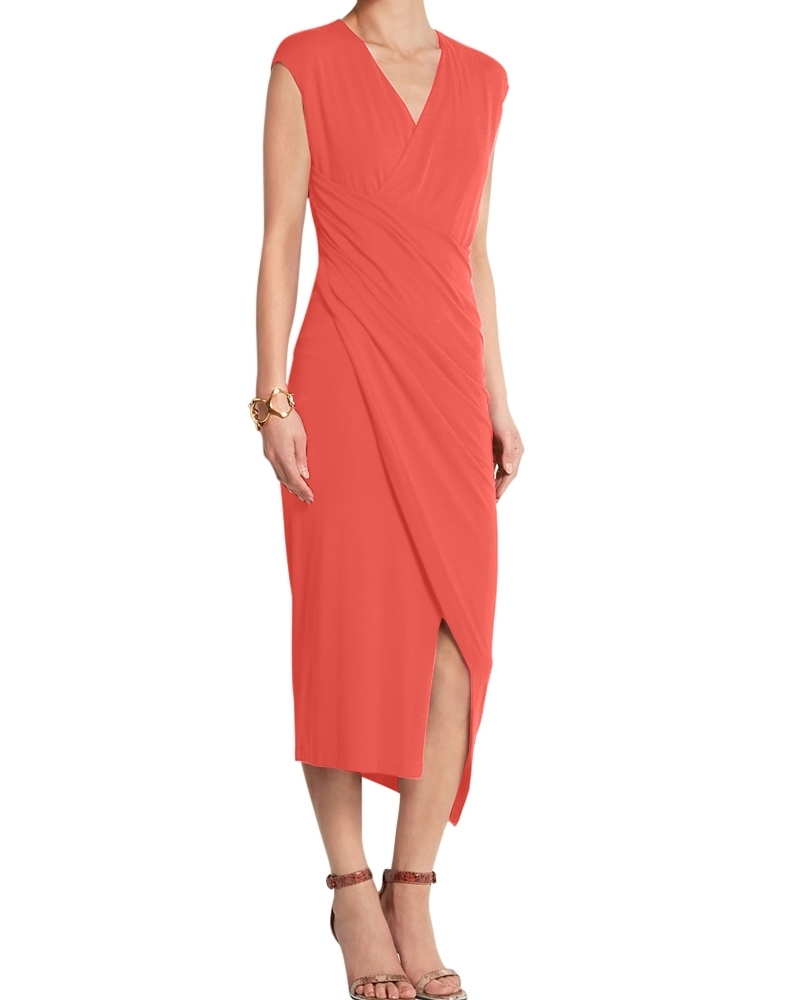 Made In Heaven Dress Coral