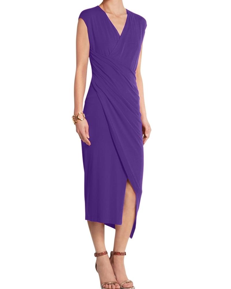 Made In Heaven Dress Purple