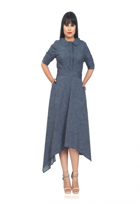 SALLY  CHAMBRAY DRESS