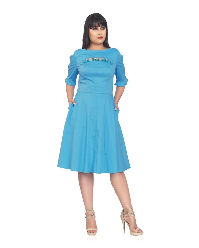 SKY BLUE WONDER DRESS