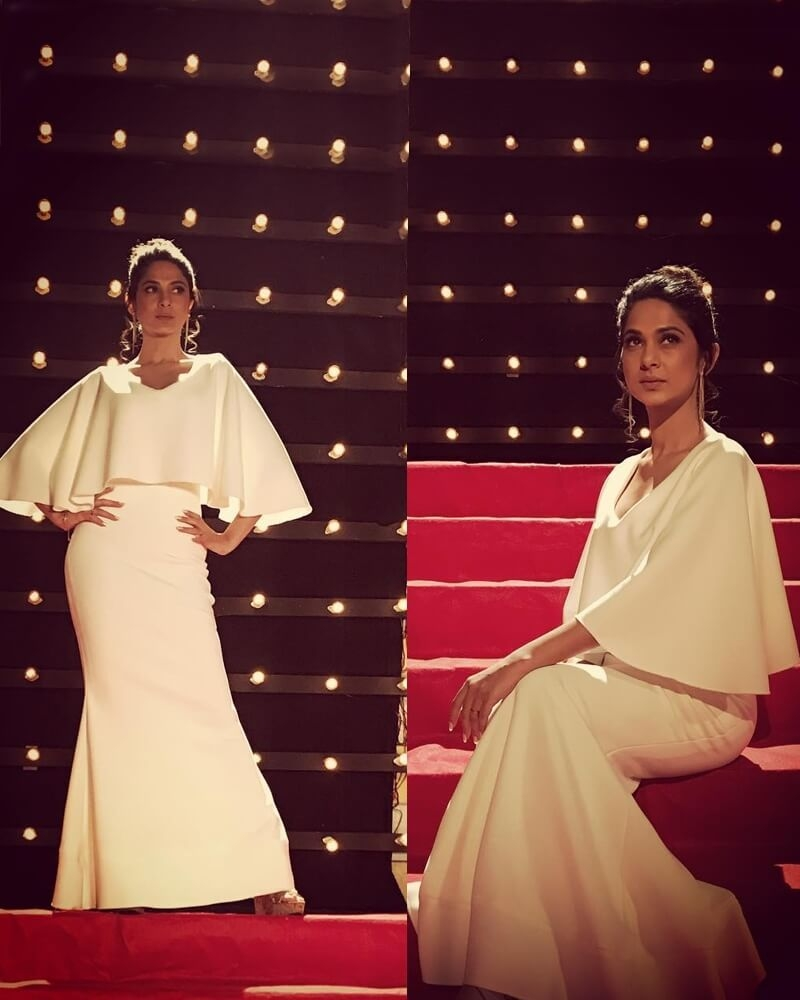 Jennifer Winget Beyhadh Maya White Dress