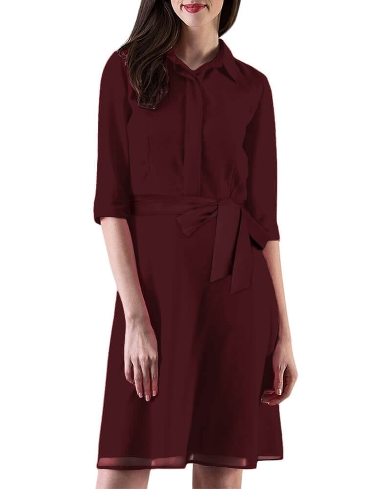 Stalk shirtdress