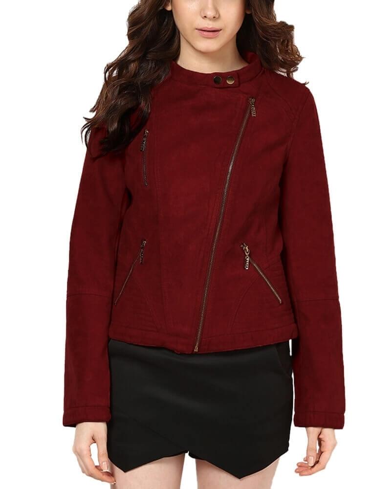 Mabel Suede Jacket
