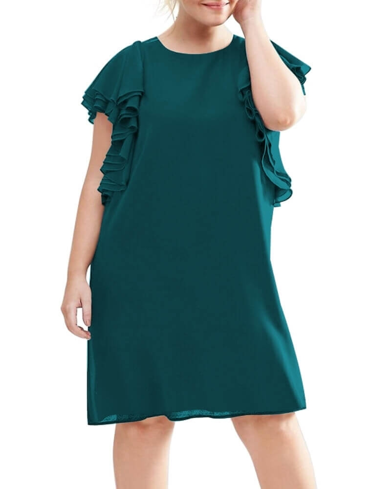 Yvonne Ruffle dress