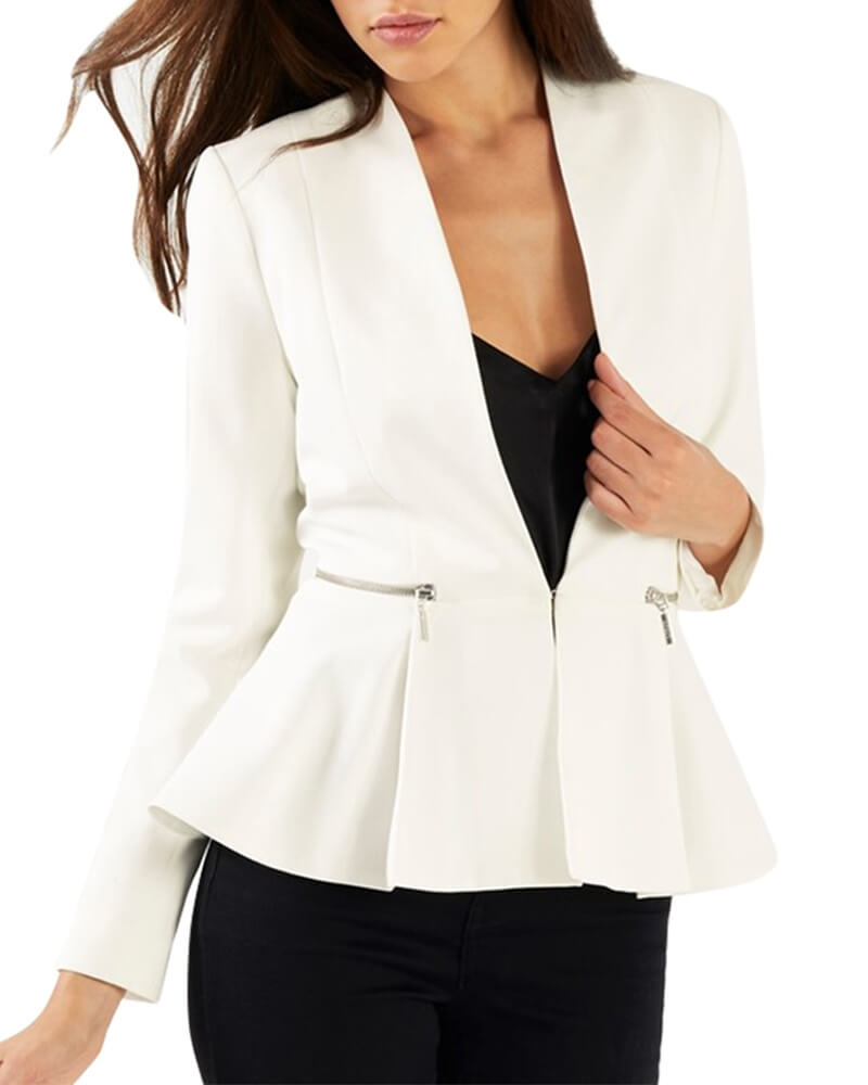 Lina Peplum Blazer for Women