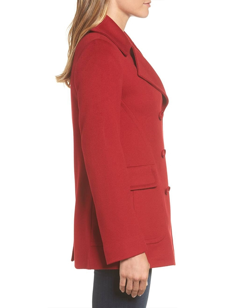 Modish Red Coat for Women