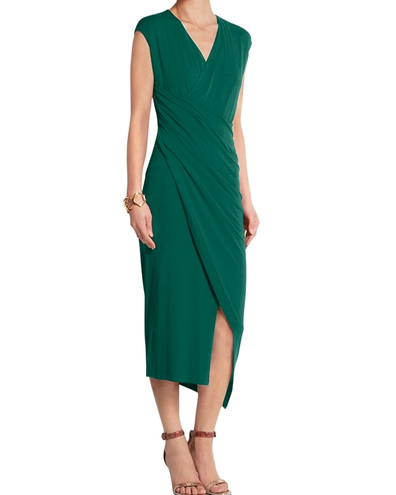 Made In Heaven Dress Green
