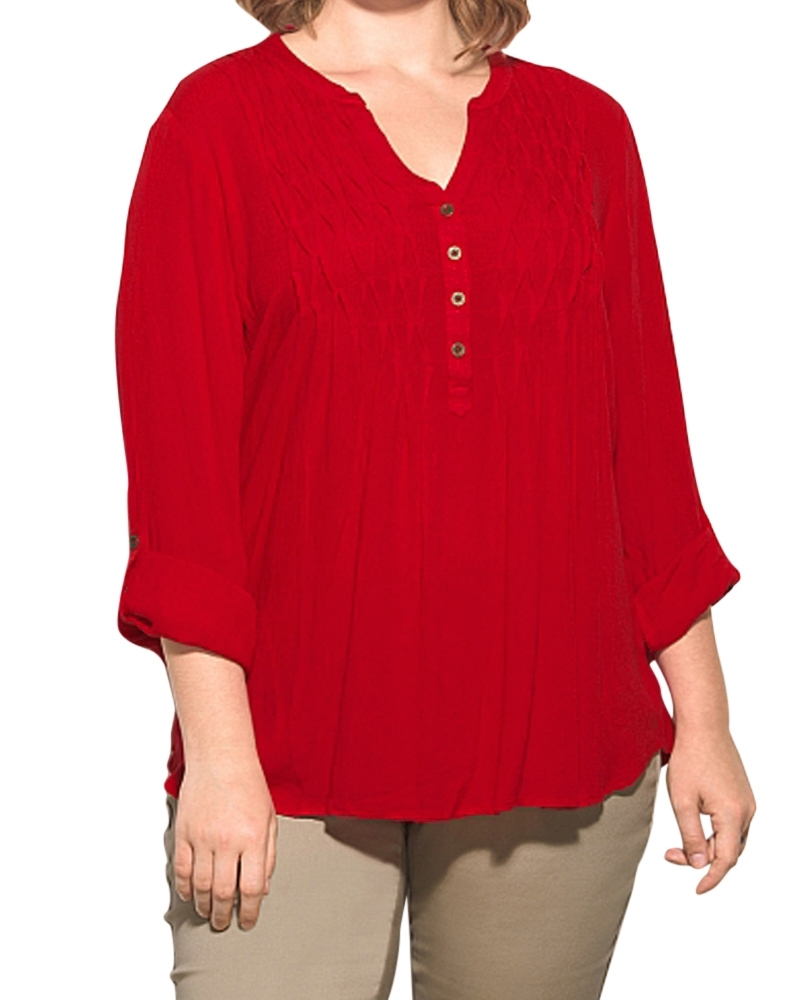 Red Plus Top