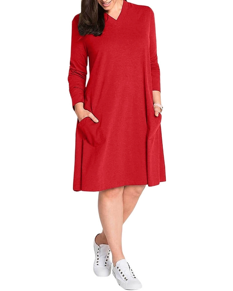 Debonair T Shirt Style Chic Shift Dress