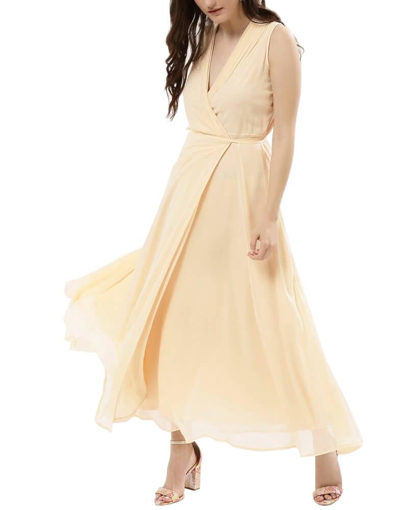 Elegant Flowy Long Maxi Dress
