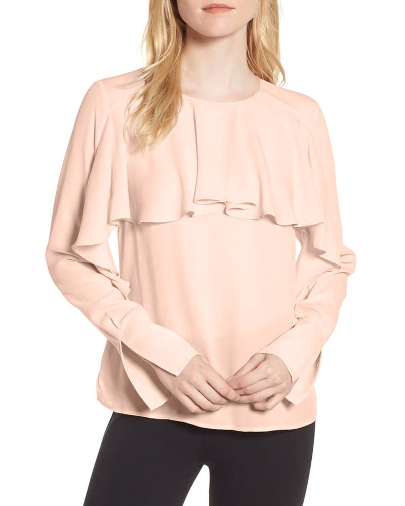Appealing Summer Cool Ruffle Blouse for Women