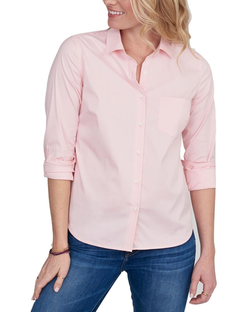Swanky Solid Pink Shirt